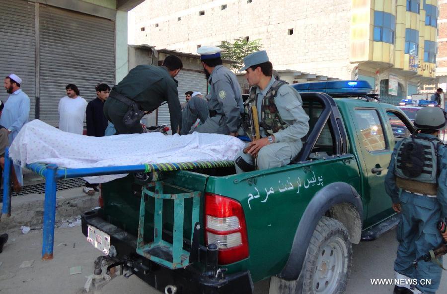 ۱۶ کشته و ۴۰ زخمی در حمله انتحاری در جنوب شرق افغانستان