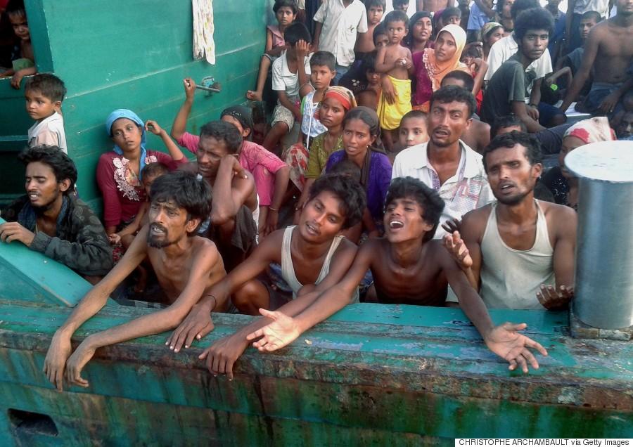 منازعه مرگ در قایق حامل پناهجویان گرسنه