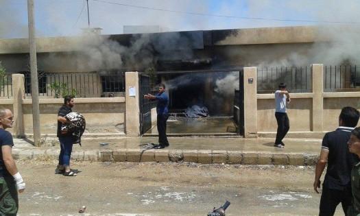 آتش سوزی در درمانگاهی در شمال سوریه ۲۵ کشته به جا گذاشت