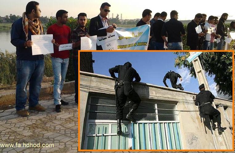 ماموران اطلاعاتی ایران سە فعال سیاسی عرب اهوزی را ربودند