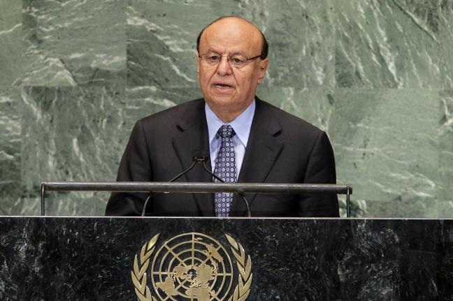انتقاد شدید هادی  از سیاستهای مداخله جویانه ایران در یمن