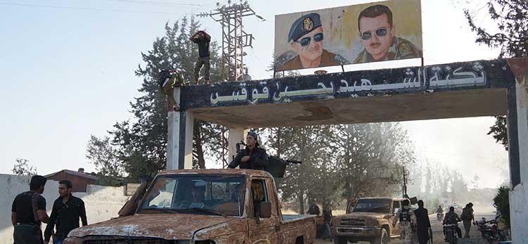 تحولات نظامي در سوريه وشکست پی در پی نیروهای اسد