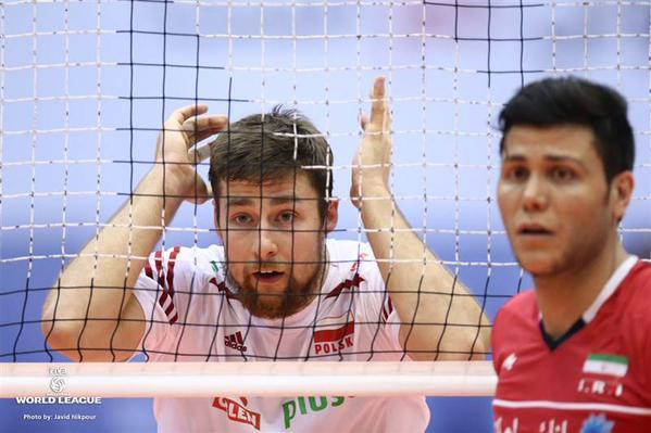 تیم ملی والیبال ایران در دومین بازی برگشت از لهستان در تهران شکست خورد