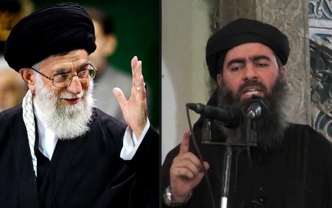 خامنه اي در رقابت با ابوبكر البغدادي بعنوان رهبر و فرمانده كل بلاد مسليمن اعلام شد
