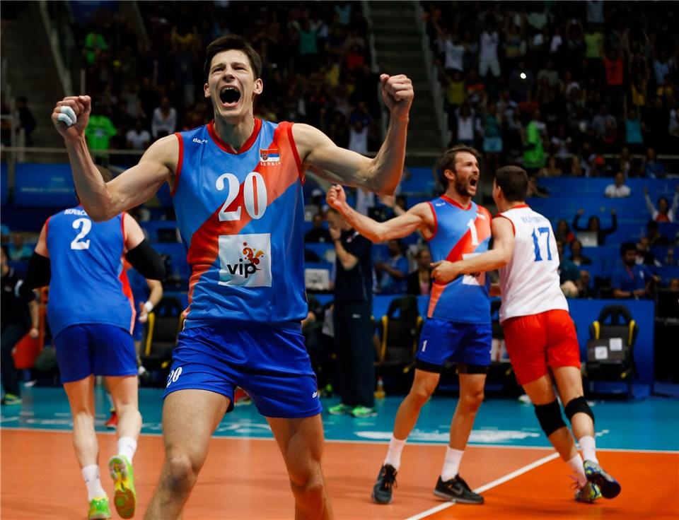تیم ملی والیبال فرانسه با شکست تیم ملی صربستان قهرمان لیگ جهانی شد