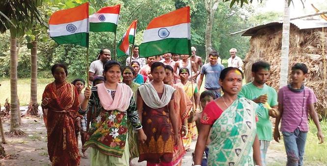 هند و بنگلادش ۱۶۲ منطقه مرزی را معاوضه کردند