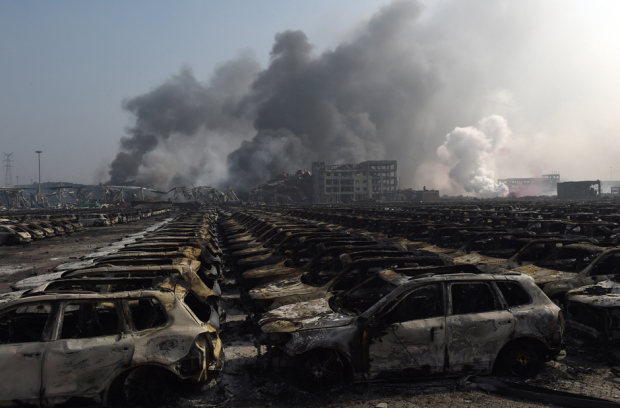 چین؛صدها کشته و زخمی در انفجارهای مهیب شهر بندری تیان جین