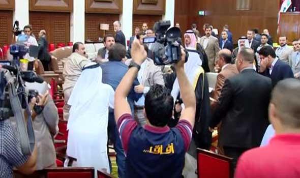 شيخ علي حاتم: پيام واقعي عبادي به تمام جامعه عراق، فرستادن مالكي روي سكوي اعدام