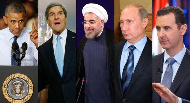 کوریدور هوایی بر فراز ایران برای کمک به دیکتاتور سوریه