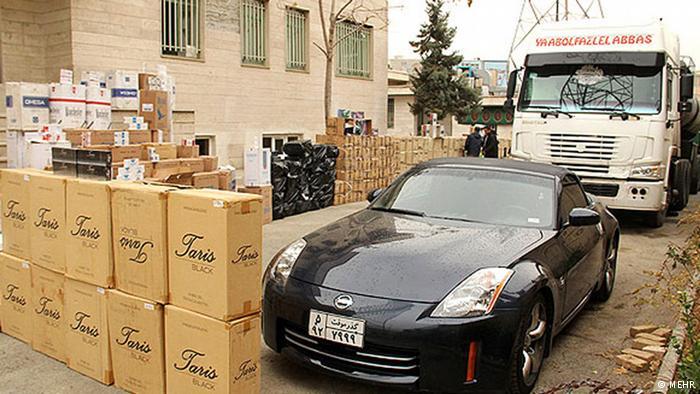 استفاده از خودروهاي سنگين دولتي در قاچاق كالا
