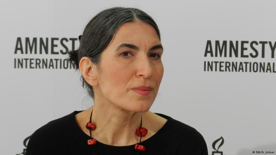 سلمین چالشکان، دبیرکل سازمان عفو بینالملل در آلمان