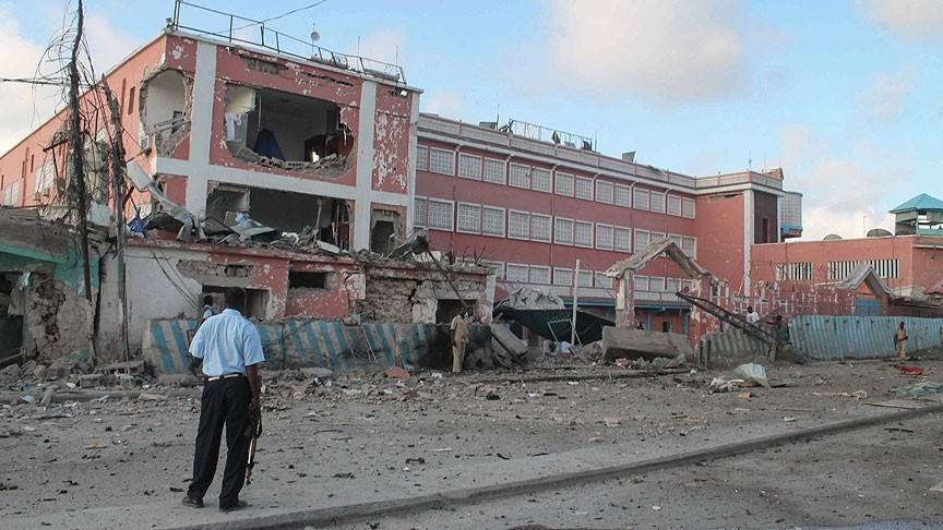 انفجار هتل محل اقامت مسولین حکومتی در موگادیشو