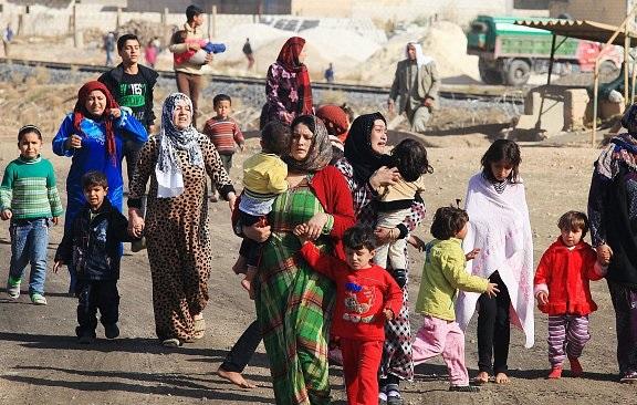 افزایش تعداد جنگزدگان سوری در پی حملات هوایی جنگنده های روسیه