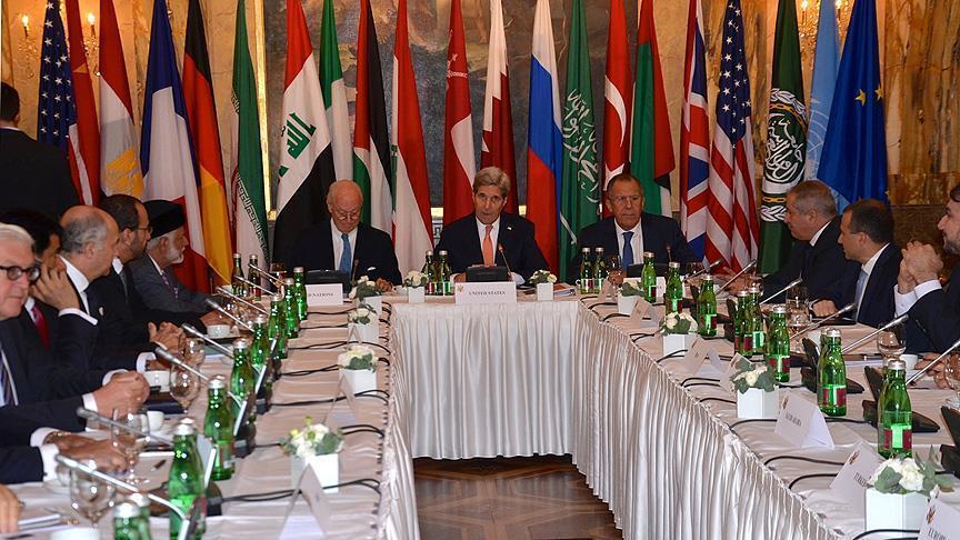 اظهارات جان کری پس از پایان نشست سوریه در وین