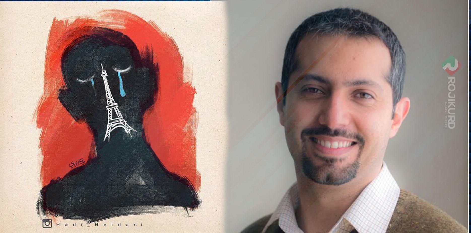 هادی حیدری، روزنامهنگار و کارتونیست بازداشت شد