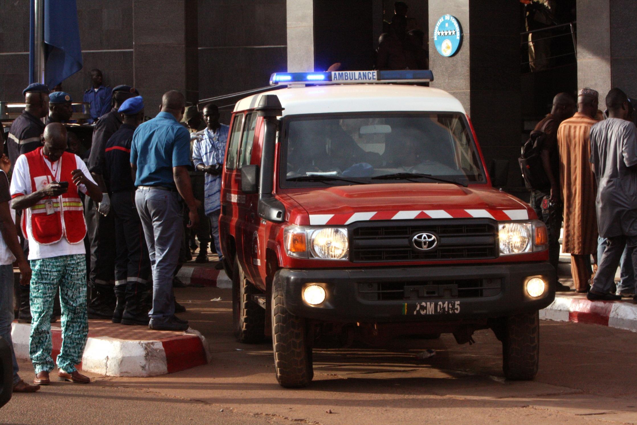 اکثر قربانیان عملیات گروگانگیری هتل رادیسون باماکو مالی اتباع خارجی هستند