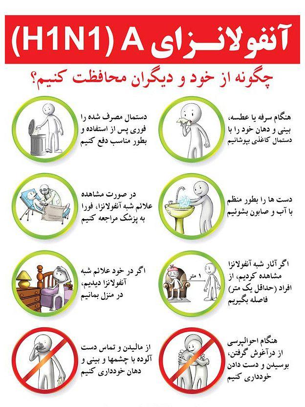 مرگ بیش از ۳۰ نفر در اثر ابتلا به 'آنفلوانزای خوکی' در ایران