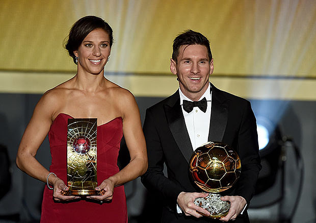مراسم انتخاب برترينهای فوتبال جهان