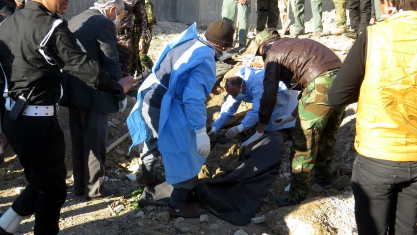 کشف قبرهای جمعی کودکان وزنان در رمادی عراق