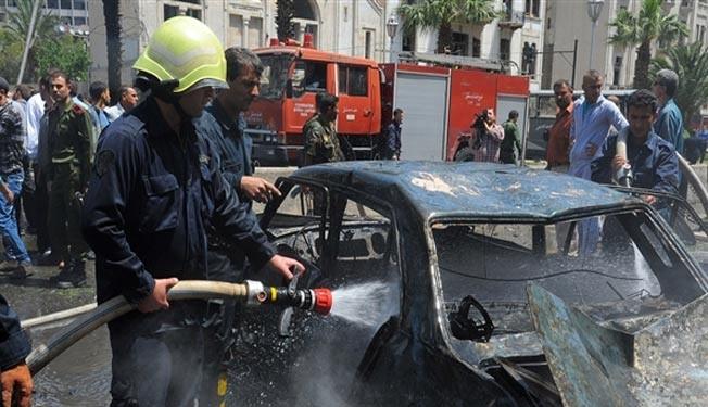 انفجار سه خودروی بمب گذاری شده در دمشق 70 کشته و زخمی برجا گذاشت
