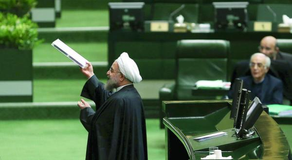 روحانی به طور ضمنی «سپاه پاسداران» را به فساد اقتصادی متهم می کند