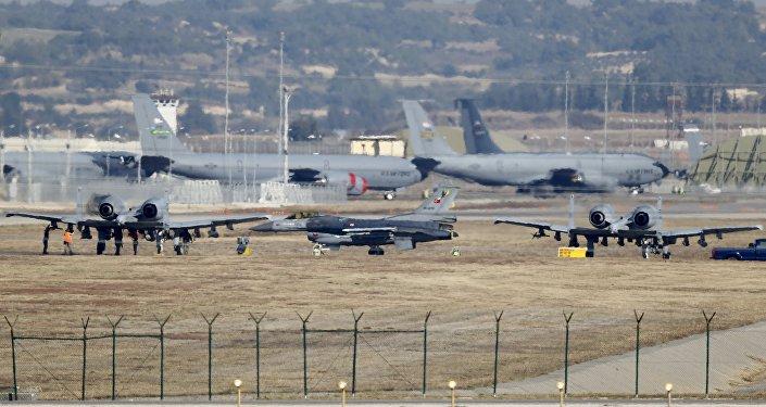 مستقر شدن جنگنده های ائتلاف عربی در اینجیرلیک