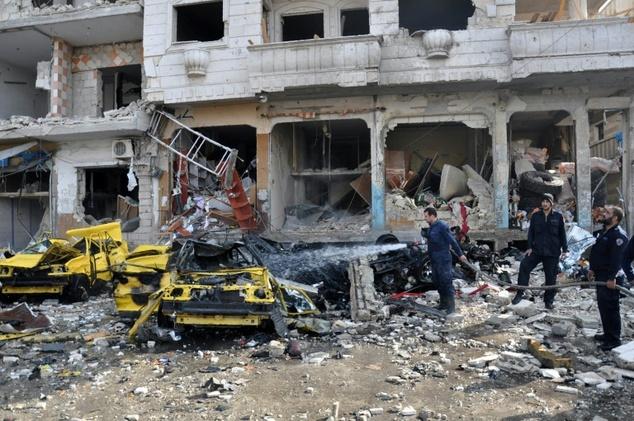 سوریه .. کشته شدن 46 نفر در دو انفجار در مرکز حمص