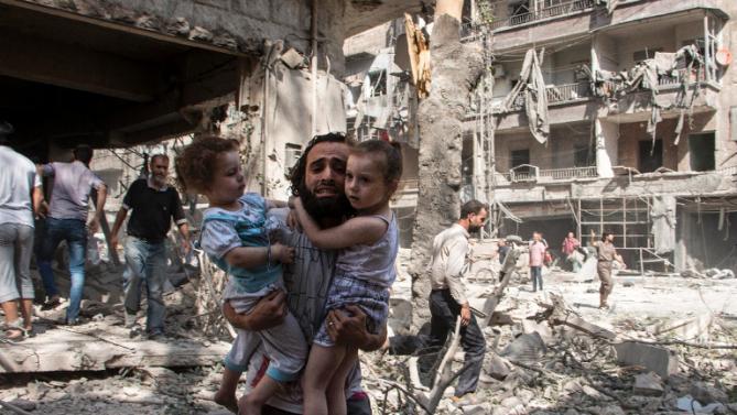 حملات ماه فوریه روسیه در سوریه، 390 کشته برجای کذاشت