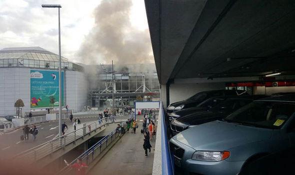 وقوع انفجار در فرودگاه بروکسل