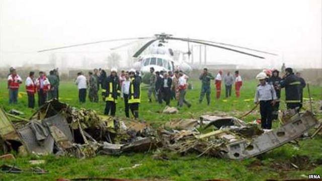 «۱۰ نفر» در حادثه سقوط هلیکوپتر اورژانس در استان فارس کشته شدند