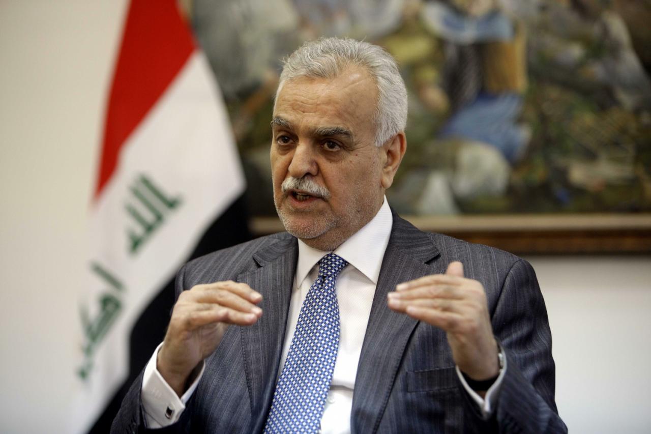 طارق الهاشمی، معاون سابق رئیس جمهور عراق : ساکنان شهر فلوجه در معرض نسل کشی هستند