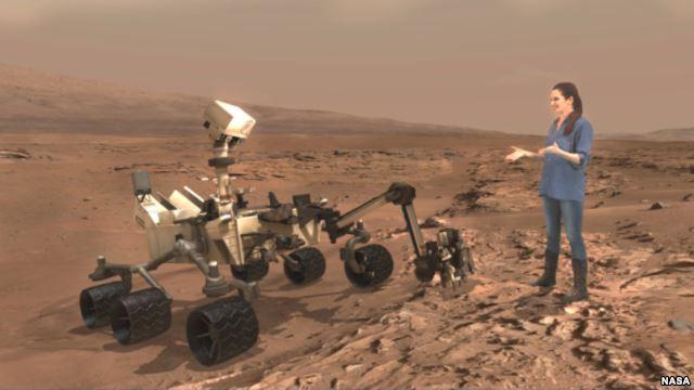 امکان سفر به مریخ با فناوری مایکروسافت و ناسا