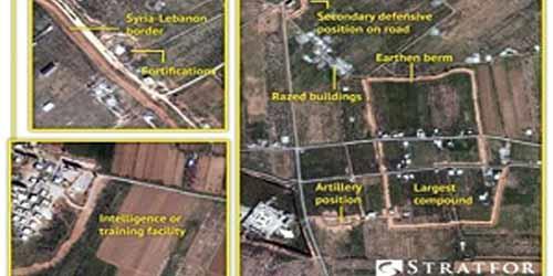 افشای یک پایگاه موشکی حزبالله لبنان در القصیر در مرز لبنان و سوریه