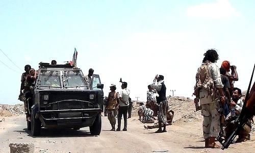 کشف اجساد کشته شده پاسداران و مزدوران حزبالله لبنان در یمن