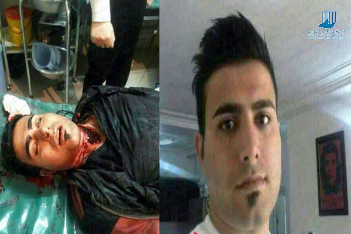 فیصل عبیداوی جوان عرب اهوازی که به دنبال شلیک مستقیم نیروهای امنیتی به اتومیبلش کشته  و دو تن دیگر نیز به شدت مجروح شدند
