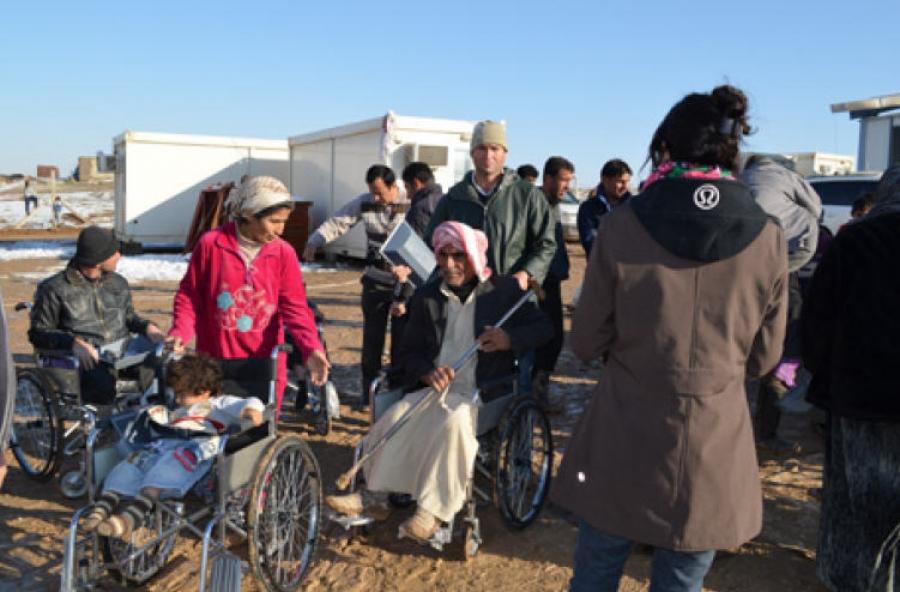 درخواست صلیب سرخ جهانى برای ارسال کمک به آورگان سورى