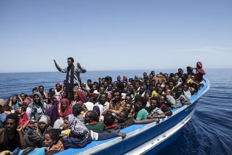 «۴۰۰ پناهجوی آفریقایی در دریای مدیترانه غرق شدند»
