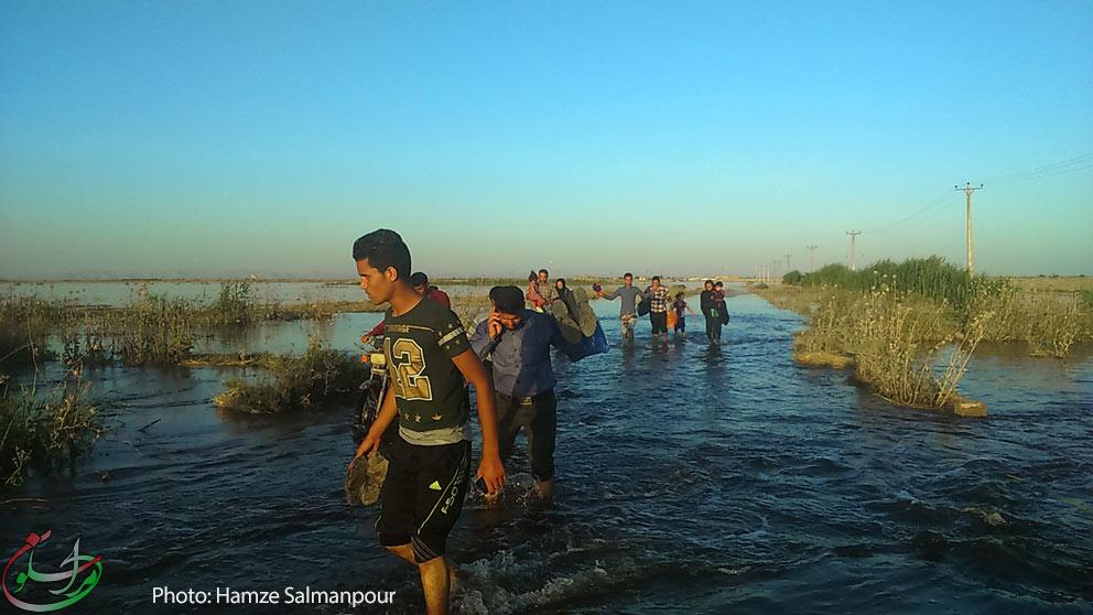 محنتهای سیلزدگان شعیبیه و خطر فاجعهای انسانی + عکس
