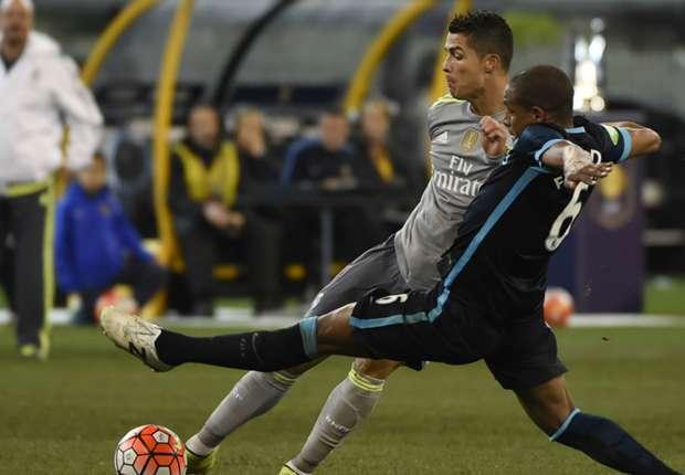 پیکار بدون گل رئال و منچستر سیتی در نیمهنهایی لیگ قهرمانان