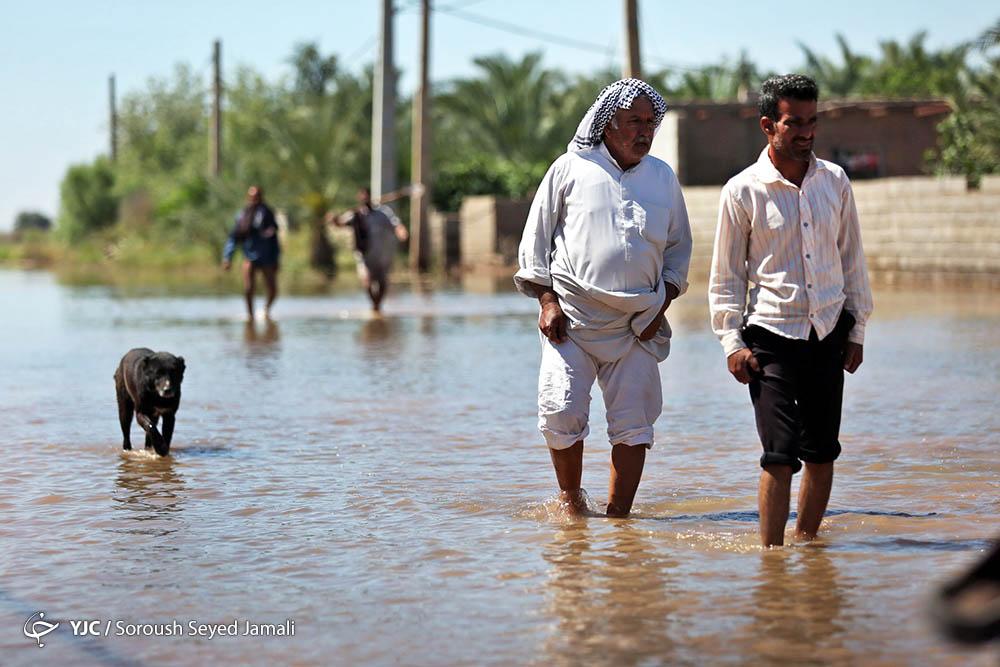 سیل در خوزستان؛ بالا گرفتن انتقادها از مسئولان
