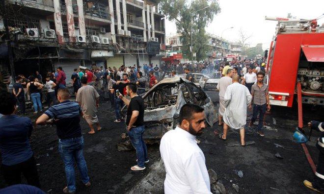 شمار قربانیان انفجار تروریستی بغداد به 204 نفر رسید