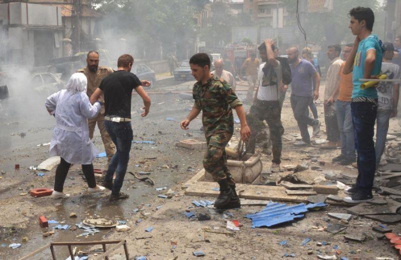 كشته شدن 28 غیر نظامی دیگر در حمله هوايى رژیم اسد به دو بازار در سوريه