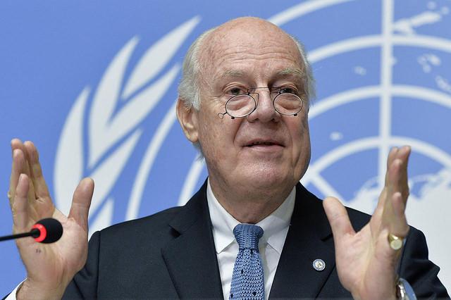 دى ميستورا: مايل نيستيم این دوره از مذاکرات سوریه مانند گذشته باشد