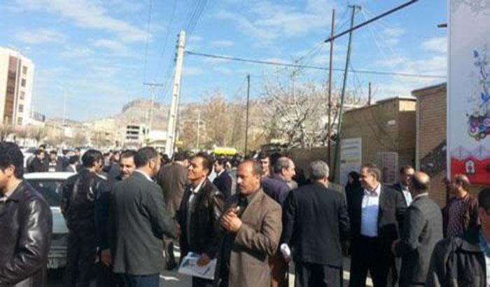 حرکتهای اعتراضی در ایلام، پاوه، کرمانشاه و مهاباد