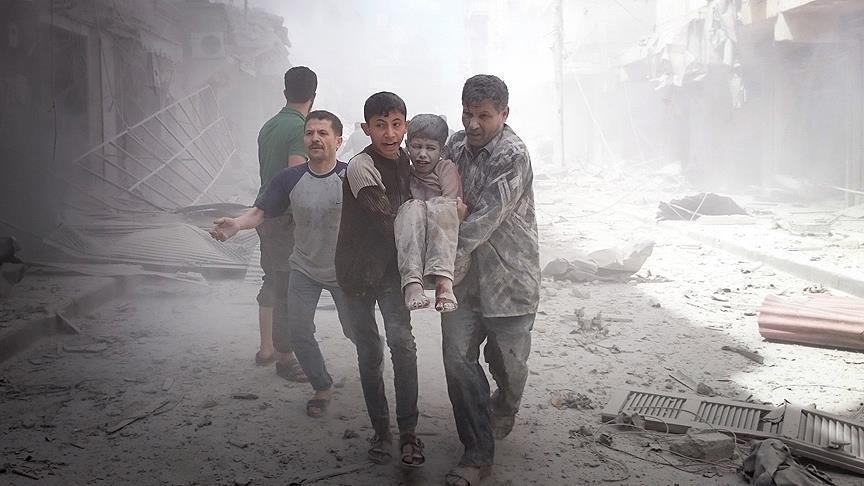 حمله هوایی رژیم اسد 40 کشته و زخمی برجا گذاشت