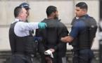 دستگیری یک مرد مسلح در اطراف پارلمان انگلیس