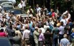 ویدیو- حمله وحشیانه ماموران نیروی انتظامی به غارت شدگان مؤسسه کاسپین در تهران