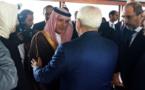 واکنش ها به دست دادن ظریف با وزیر خارجه عربستان سعودی +عکس