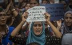 تجمع اعتراض مسلمانان اسپانیا نسبت به حملات تروریستی