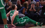 ویدیوی مصدومیت وحشتناک گوردون هیوارد بازیکن بوستون در لیگ بسکتبال NBA